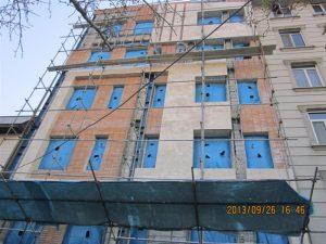 شیرازجنوبی نمای ترموود ساختمان