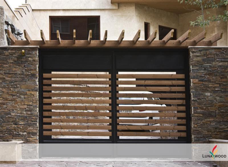نمونه پروژه در چوبی