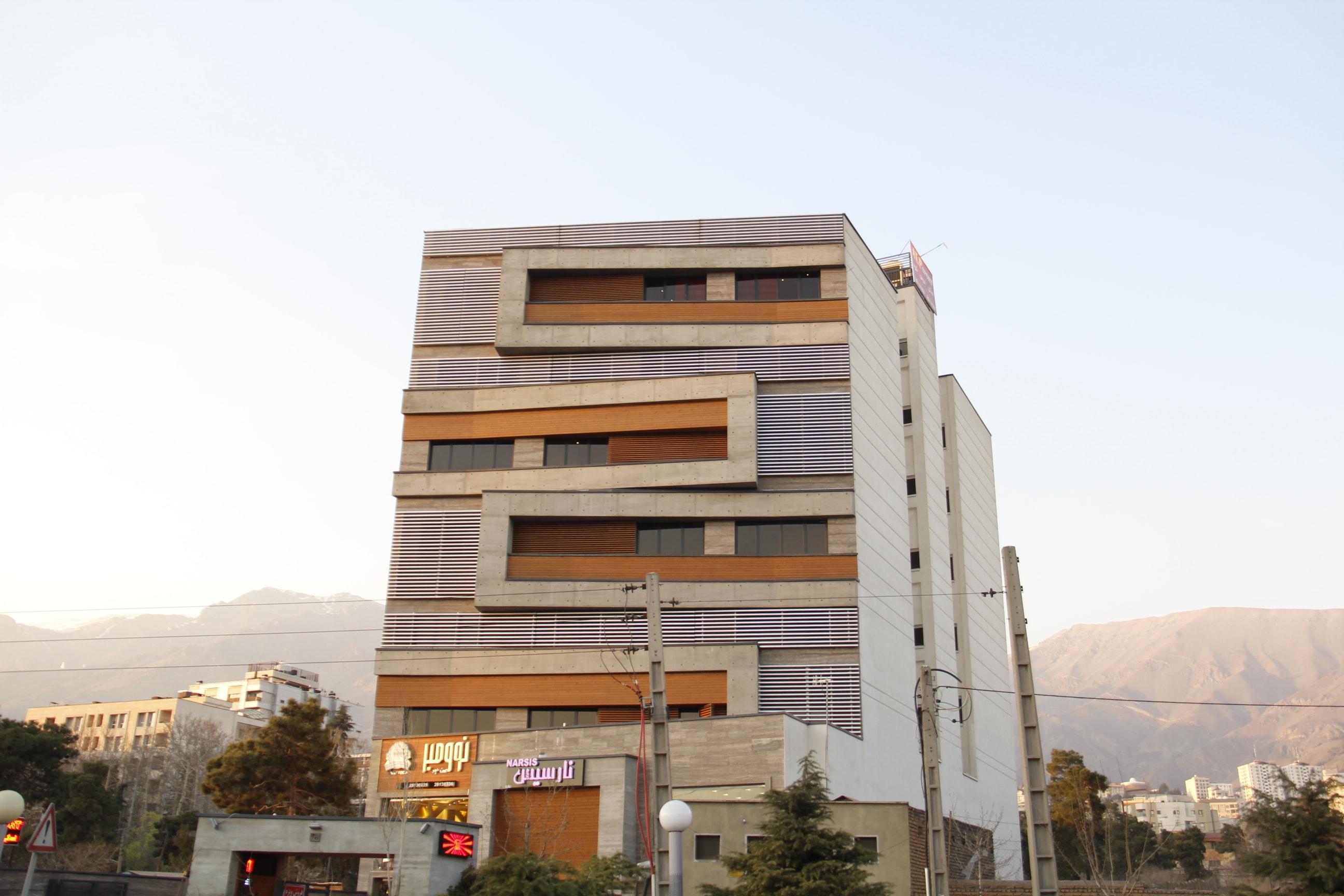 ترمووود لوناوود نمای ساختمان – ارتش