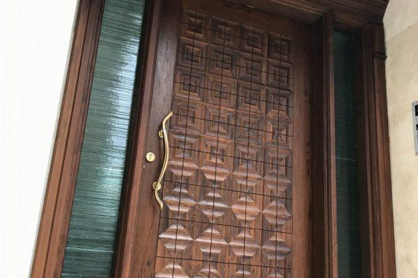 درب چوبی - پروژه زعفرانیه