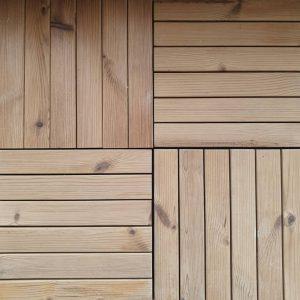نمونه تایل چوبی