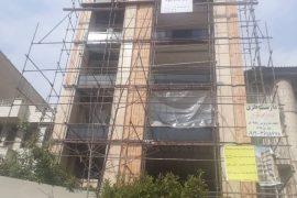 پروزه نمای ساختمان مرزداران