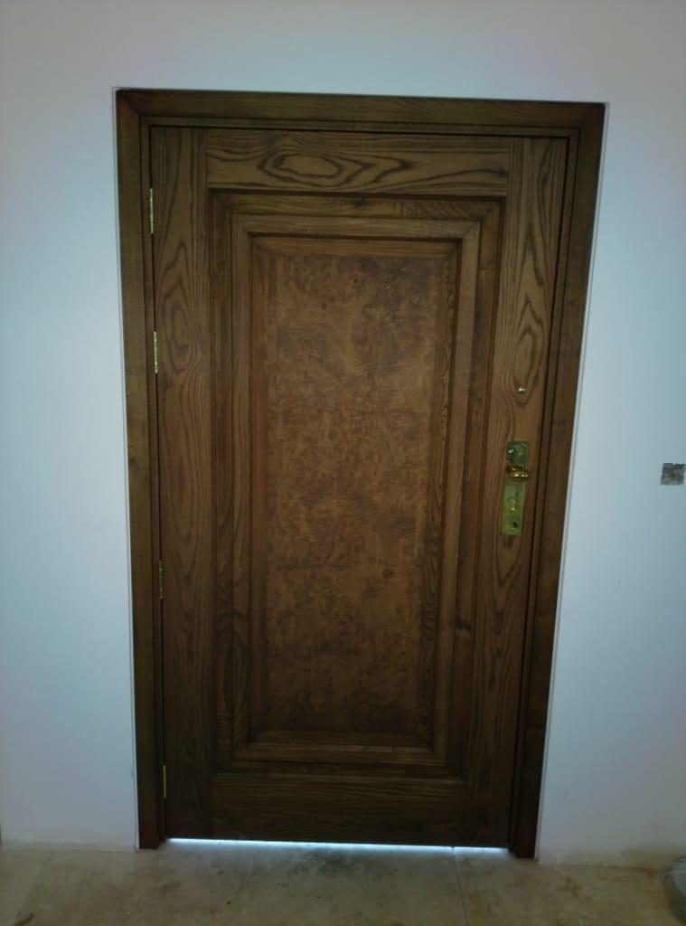 درب چوبی- لواسان