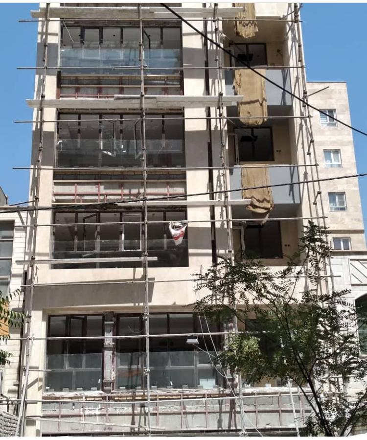 پروژه ترمووود لوناوود (نمای ساختمان) – حکیمیه