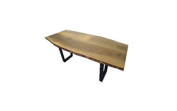 میز-ناارخوری-روستیک-پایه-چوب-و-فلز-آلتن