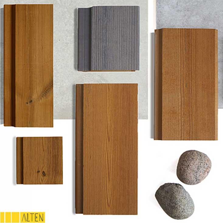 آشنایی با انواع چوب ترموود