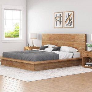 خرید تخت خواب چوبی