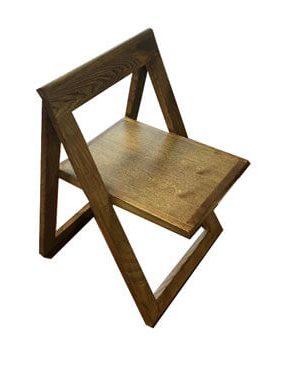 صندلی-چوبی-دو-مثلث-التن