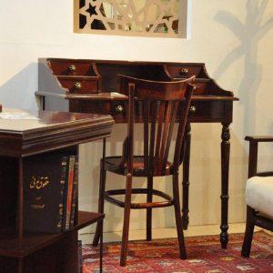 صندلی مطالعه چوبی
