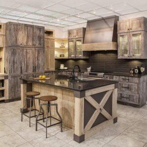 دکوراسیون چوبی آشپزخانه - پارساگروپ - آلتن
