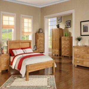 دکوراسیون چوبی اتاق خواب - پارساگروپ - آلتن