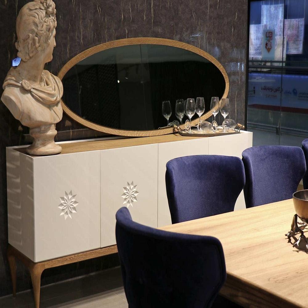 آینه میز کنسول - آلتن - پارساگروپ